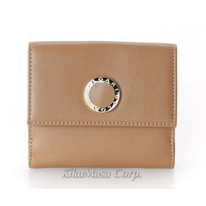 ブルガリ 二つ折り財布 Wホック BB COLORE 33383 ブラウン系 小銭入れ有り レディース メンズ 女性用 男性用 茶色 2つ折り BVLGARI|rocobi