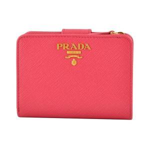 プラダ PRADA 1ML018 QWA 505 サフィアーノレザー 二つ折り財布 rocobi