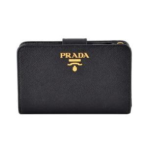 プラダ PRADA 1ML225 QWA 002 サフィアーノレザー 二つ折り財布 rocobi