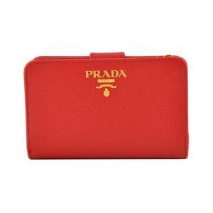 プラダ PRADA 1ML225 QWA 68Z サフィアーノレザー 二つ折り財布 rocobi