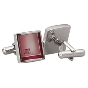 クレージュ カフス カフリンクス coucc6002b シルバー 銀色 カフスボタン|rocobi
