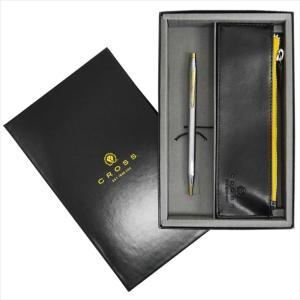 ショップバッグ付き クロス クラシックセンチュリー 3302 メダリスト ボールペン ペンケース付きギフトボックスセット rocobi