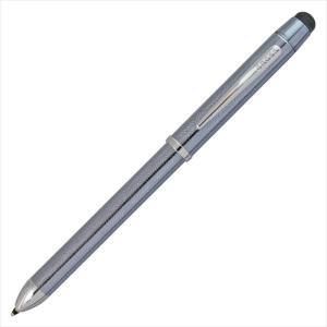 クロス テックスリープラス AT0090-14 フロスティスティールラッカー TECH 3 テック3 複合筆記具 3色ペン マルチペン (コ) rocobi