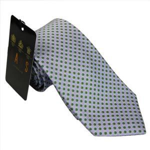 DAKS ダックス ネクタイ d11514color1 パープル系 約8cm ドット柄 ビジネス|rocobi
