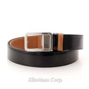 ダンヒル ベルト メンズ リバーシブル BPM100A42 ブラック ブラウン|rocobi