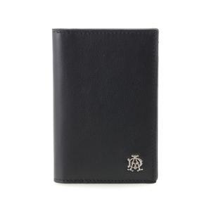 ダンヒル カードケース メンズ ブラック REEVES L2XR47A|rocobi