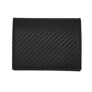 ダンヒル コインケース メンズ ブラック CHASSIS L2Z5C1A カーボン柄 黒 小銭入れ レザー 男性用 紳士 dunhill|rocobi