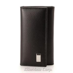 ダンヒル メンズ 6連キーケース QD5020A SIDECAR サイドカー ブラック レザー 革 男性用|rocobi