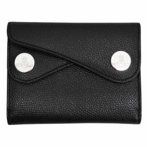 ヴィヴィアン ウエストウッド 二つ折り財布 レディース メンズ No10 DOT 51150001 BLACK 18SS ブラック 黒 女性用|rocobi