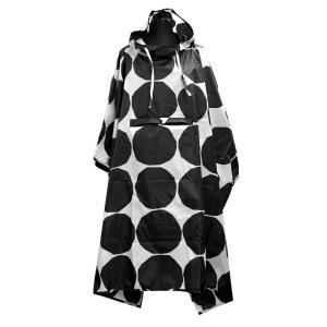 マリメッコ marimekko 047598 190 ポンチョ レインコート (折りたたみ収納可能) KIVET RAIN PONCHO|rocobi