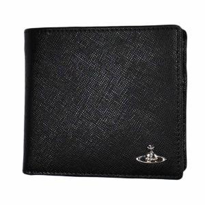 ヴィヴィアン ウエストウッド 二つ折り財布 メンズ No10 KENT 51010016 BLACK 18SS ブラック 黒 男性用|rocobi