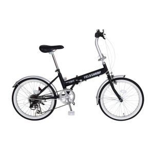 FIELD CHAMP FDB206S フィールドチャンプ 20インチ折り畳み自転車 6段ギア かご無し 365 ミムゴ 折りたたみ 小型 持ち運び おすすめ|rocobi