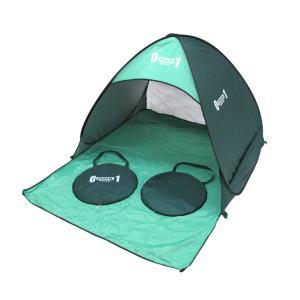 ZERO-ONE FIELD ワンタッチサンドーム アウトドアグッズ キャンプ用品 ワンタッチテント サンシェード 簡易テント|rocobi
