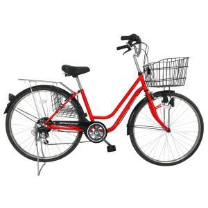 ACTIVEPLUS911 ノーパンク軽快車266SF 26インチ軽快車 6段ギア 自転車 かご有り パンクしないタイヤ 365 ミムゴ シティサイクル おすすめ rocobi