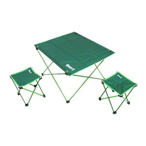 ZERO-ONE FIELD アルミコンパクトセット アウトドアグッズ キャンプ用品 小型 テーブル チェア セット 折り畳み 簡易|rocobi