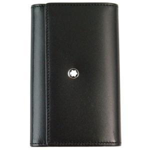モンブラン 6連 キーケース メンズ レザー ブラック U0007161 30307 黒 ホワイトスター 革小物 男性用|rocobi