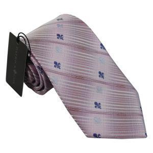 PATRICK COX パトリックコックス ネクタイ 先幅約8.5cm PC-008-PINK ピンク チェック柄|rocobi