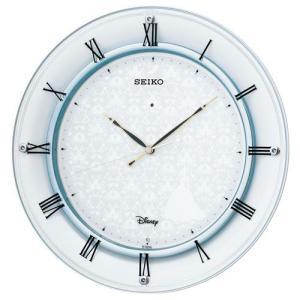 セイコー ディズニー FS503W シンデレラ 高級電波時計 壁掛け時計 白パール アナログ 掛時計 おしゃれ 大人 キャラクター rocobi
