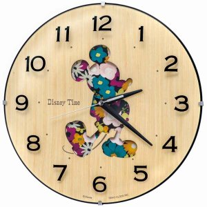 セイコー クロック ディズニータイム クォーツ 壁掛け時計 FW586B ミッキーマウス アナログ SEIKO CLOCK rocobi