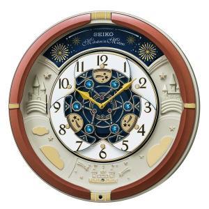 セイコー クロック クォーツ 壁掛け時計 からくり RE601B メロディー 音楽 報時 時報 アナログ SEIKO CLOCK|rocobi