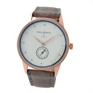 ポールヒューイット PAUL HEWITT PH-M1-R-W-13S  Signature Line 38mm メンズ 腕時計 アナログ|rocobi