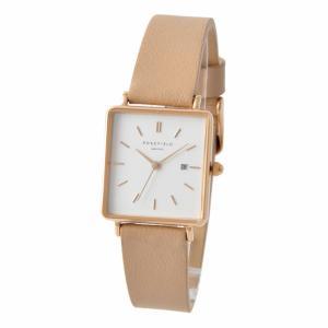 ローズフィールド ROSEFIELD QWPR-Q11  Boxy レディース 腕時計 アナログ 女性用 ウォッチ 長四角 長4角|rocobi