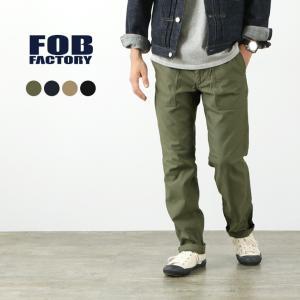 FOB FACTORY(FOBファクトリー) F0431 ベイカーパンツ / ファティーグパンツ / ユーティリティーパンツ / メンズ 日本製