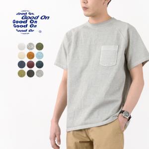 【期間限定ポイント10倍】GOOD ON(グッドオン) ラグランヘビー ポケット Tシャツ ショート...