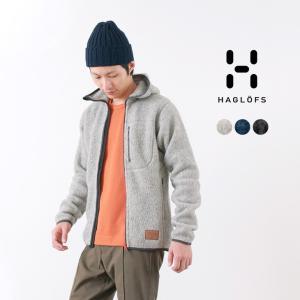 HAGLOFS(ホグロフス)パイルフード メンズ / ボアフリースジャケット / アウトドア|rococo