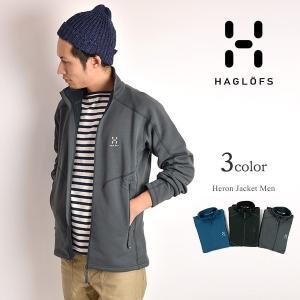HAGLOFS(ホグロフス)ヘロンジャケット メンズ / フリースジャケット / アウトドア|rococo