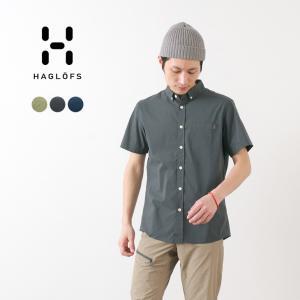 HAGLOFS(ホグロフス) ブラン ショートスリーブ シャツ メンズ / 半袖 / 薄手 軽量 / アウトドア|rococo