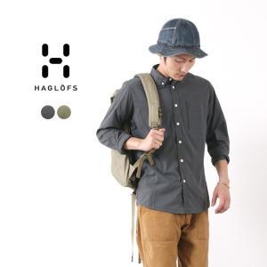 HAGLOFS(ホグロフス) ブラン ロングスリーブ シャツ メンズ / 長袖 / 薄手 軽量 / アウトドア|rococo