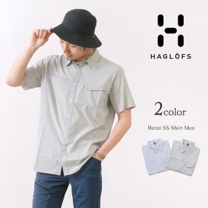 HAGLOFS(ホグロフス) ベルント ショートスリーブ シャツ メンズ / 半袖 / 薄手 軽量 消臭 / アウトドア / BERNT SS SHIRT MEN|rococo