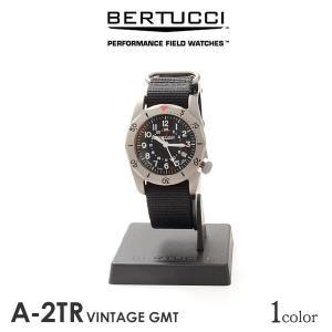 BERTUCCI(ベルトゥッチ) A-2TR ヴィンテージGMT / ウォッチ / 腕時計 / メン...
