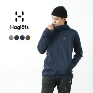 HAGLOFS(ホグロフス) スウォークフード / ニット フリース フーデッド ジャケット / メンズ|rococo