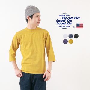 【期間限定ポイント10倍】GOOD ON(グッドオン) 80's フットボールTシャツ 7分袖 / ...