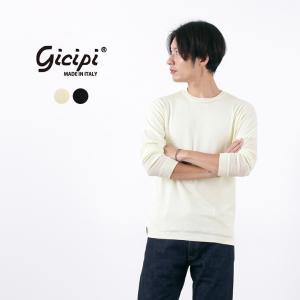 【限定クーポン対象】GICIPI(ジチピ) ウールシルク ロングスリーブTシャツ / インナー / ...