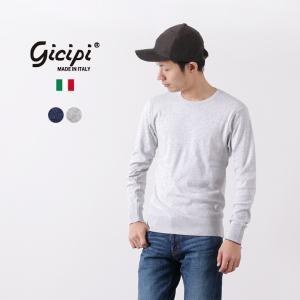 【限定クーポン対象】GICIPI(ジチピ) ロングスリーブTシャツ / カットソー / コットンニッ...