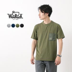 WOOLRICH(ウールリッチ) ハイストレッチメリノTシャツ / OUTDOOR LABEL / 半袖 / メンズ / メリノウール
