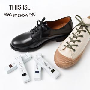【期間限定ポイント10倍】THIS IS...(ディスイズ) ワックス ドレス フラット シューレース / 靴紐 / スニーカー / 革靴 ROCOCO PayPayモール店