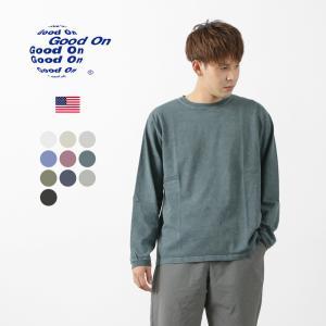 【期間限定ポイント10倍】GOOD ON(グッドオン) ロングスリーブ クルーTシャツ / メンズ ...