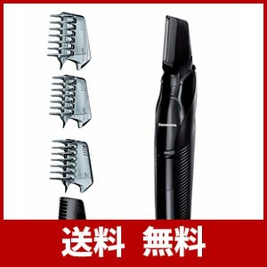 パナソニック ボディトリマー お風呂剃り可 男性用 黒 ER-GK70-K