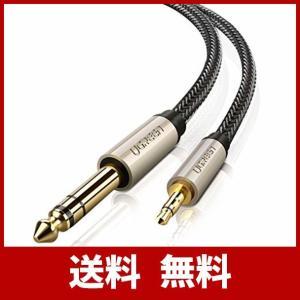 UGREEN オーディオ変換ケーブル 3.5mmミニプラグ to 6.35mm標準プラグ オス-オス...