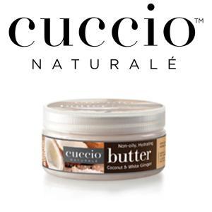 【CUCCIO Naturale】バターブレンド・ミニ42g<ココナッツ&ホワイトジンジャー>ボディケア・保湿・マッサージクリーム rocoslife
