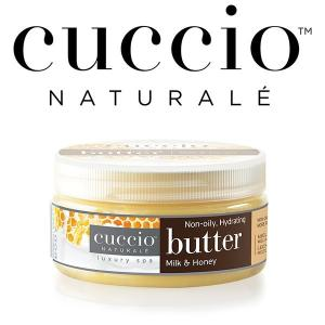 【CUCCIO Naturale】バターブレンド・ミニ42g<ミルク&ハニー>ボディケア・保湿・マッサージクリーム rocoslife