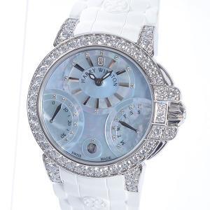 ハリーウィンストン Harry Winston ボーイズ腕時計 オーシャン バイレトログラード36m...