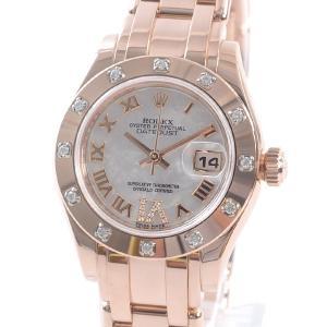 huge discount 612a5 3adf6 ロレックス パールマスター(レディース腕時計)の商品一覧 ...