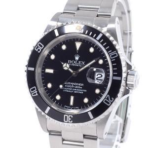ロレックス ROLEX メンズ腕時計 サブマリーナ 16610 ステンレス 中古A品 1374009...