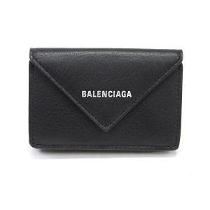 バレンシアガ 三つ折財布 ペーパーミニウォレット 391446 カタオシ 未使用品 1381471_...