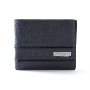 ブルガリ 二つ折財布 2つ折り式財布 281960 カタオシ 未使用品 1400375_新宿店